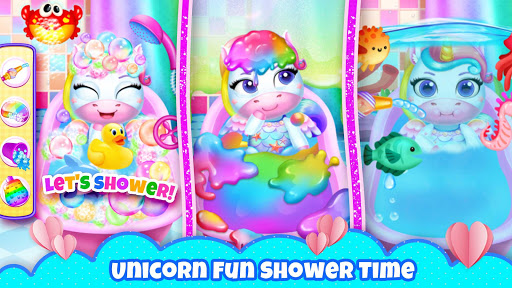 My Little Unicorn: Games for Girls apkpoly screenshots 5