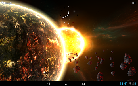 Fire Planet 3D XL screenshot 3