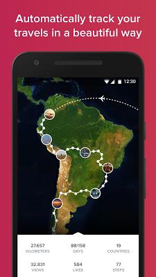 Polarsteps - Travel Tracker - screenshot