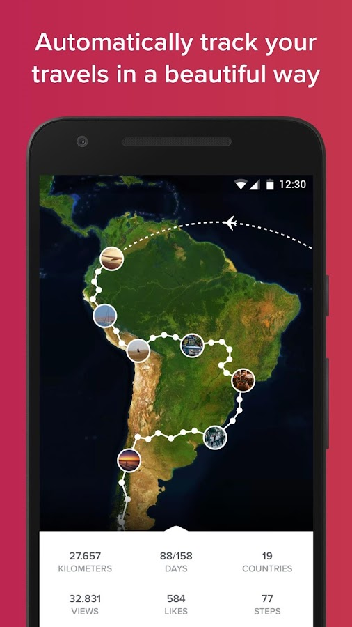 Polarsteps - Travel Tracker: screenshot