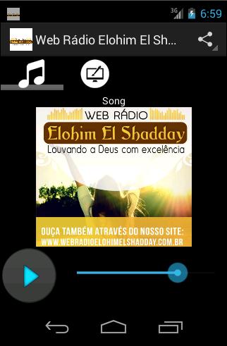 Web Rádio Elohim El Shadday
