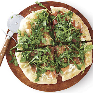 Prosciutto and Arugula Pizza