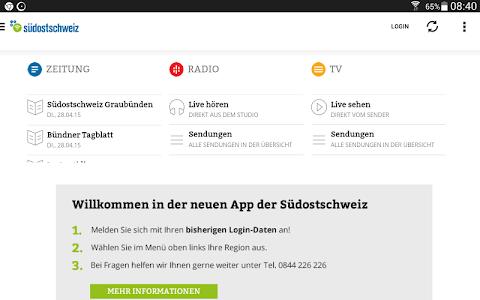 Südostschweiz (Tablet) screenshot 4
