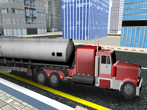 City Oil Cargo Truck Simulator