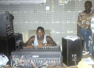 Photo: Buckie & Litter 1991 at Arrows Studio, Jamaica