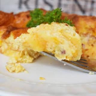 Overnight Breakfast Casserole | #SundaySupper.