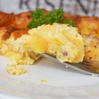 Overnight Breakfast Casserole | #SundaySupper.