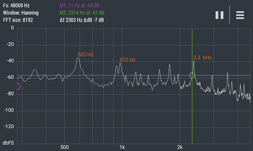 Advanced Spectrum Analyzer PRO 2.1 5