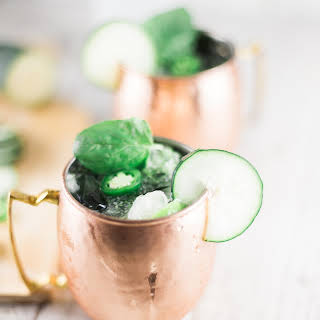 Jalapeno Cucumber Moscow Mules.