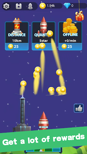 Lucky Rocket - Best Rocket Game To Reward screenshot 4