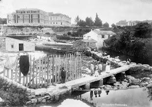 Photo: Un lavadoiro do río Ghafos nas Corbaceiras