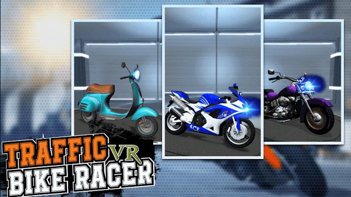 VR Traffic Bike Racer - screenshot