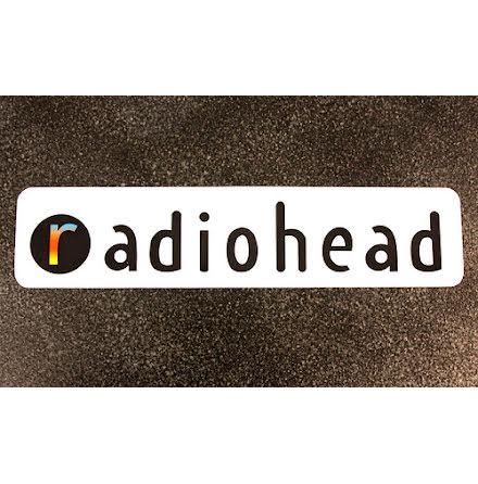 Radiohead - Logo - Klistermärke