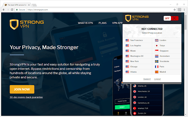Strong Proxy - Free & Fast Privacy App