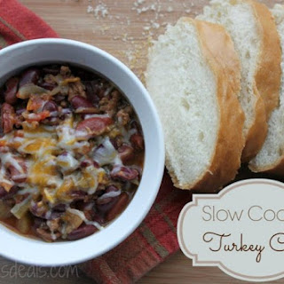 Slow Cooker Turkey Chili