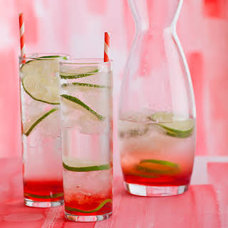 Sweet Cherry Gin & Tonic.