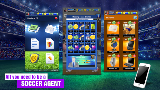 2018 Soccer Agent - Mobile Football Manager Hack for the game