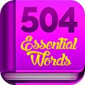 آموزش جامع 504 لغت ضروری - آموزش زبان انگلیسی icon