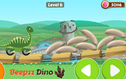 Racing game for Kids - Beepzz Dinosaur APK screenshot thumbnail 12