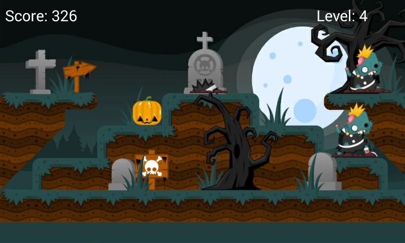 Скриншот Whack-A-Zombie