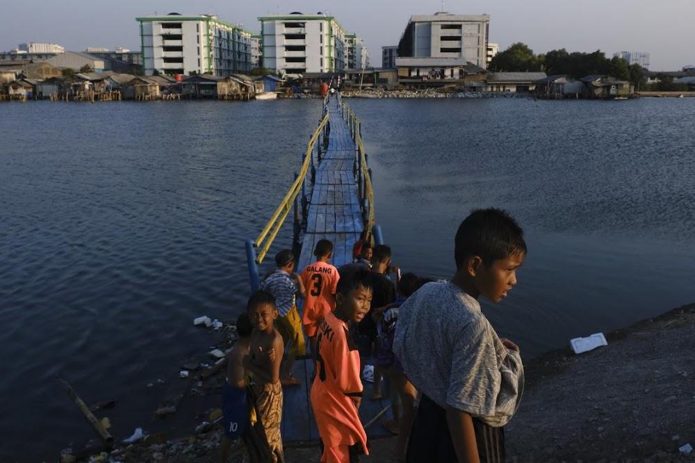 Asiatiese lande is baie opsies as die see opkom en stede sink