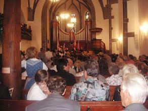 Photo: In der Kirche beim oekumenischen Gottesdienst mit  Volksmusik und Jodelvorträgen