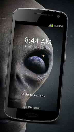 GO Locker Alien UFO Theme