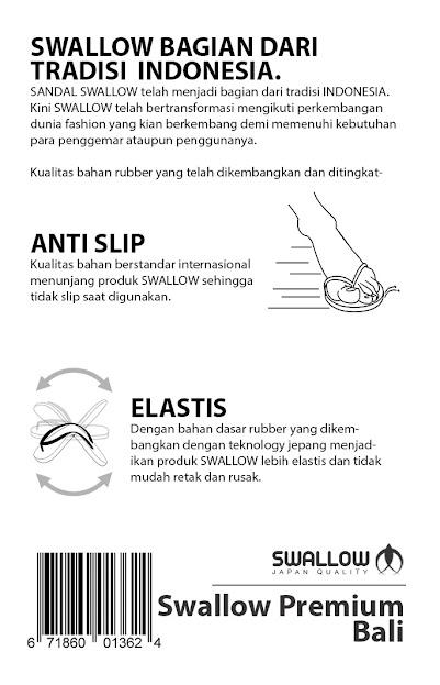 Kelebihan dari Sandal Swallow Premium Bali