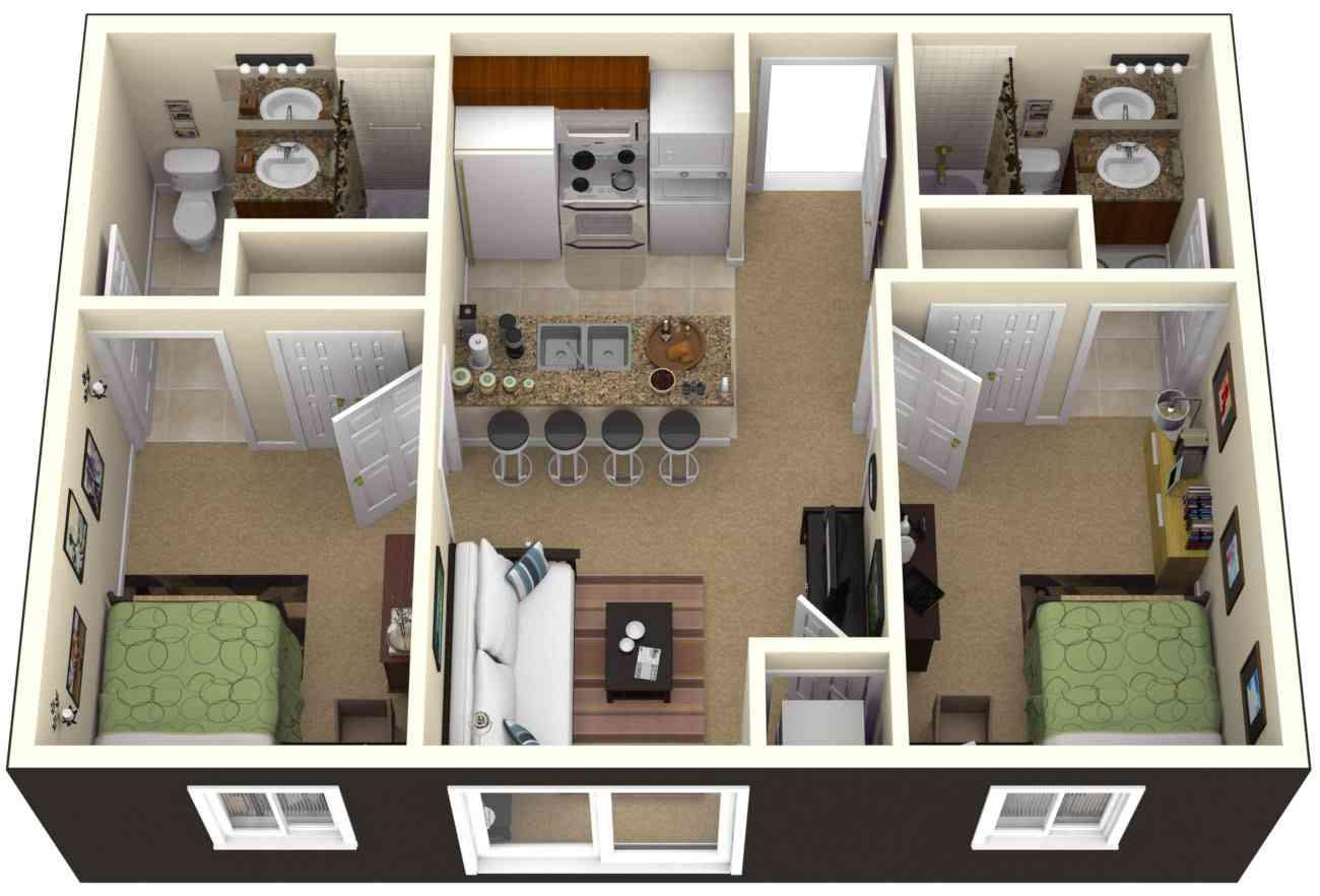 3d small home plan ideas screenshot - Small Home Plans