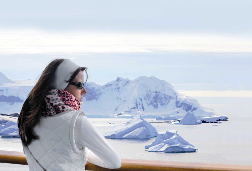 Sail on a Ponant luxury expedition ship from Ushuaia, Argentina, to  Antarctica.