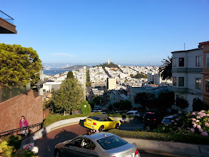 Photo: Lombard Street desde Russian Hill