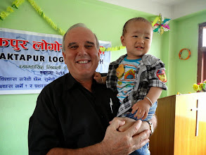Photo: This is Pastor Ishwar's son Daniel. I had the joy and privilege of dedicating him to the Lord and naming him a year ago. So he is like my Nepalese grandson. Blessed be God !!!
