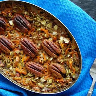 Carrot Cake Oat Bake [Vegan, Gluten-Free].