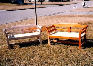 Photo: Garden Benches