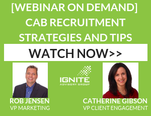 Webinar On Demand: Customer Advisory Board Recruitment Strategies