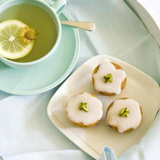 Green Tea and Honey Cupcakes.