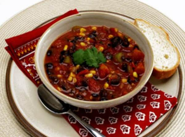 Hearty Black Bean And Corn Chili