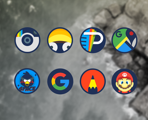 Android下載免費的Zorun - Icon Pack 应用 screenshot