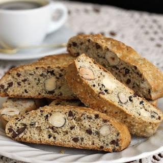 Cocoa Nib & Roasted Hazelnut Biscotti