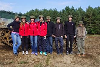 Photo: Zajęcia na poligonie wojskowym (09.2014)