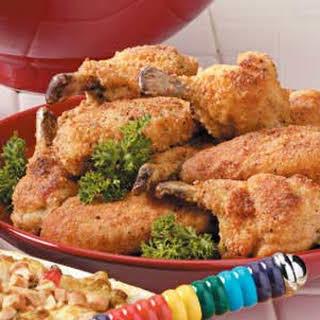 Breaded Chicken Wings.