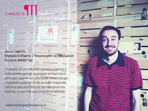 Photo: Javier Laporta, Responsable de Mediación de Matadero Madrid @mataderomadrid