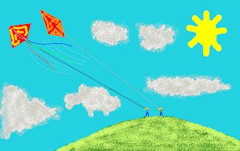 Photo: Kites in the Sky