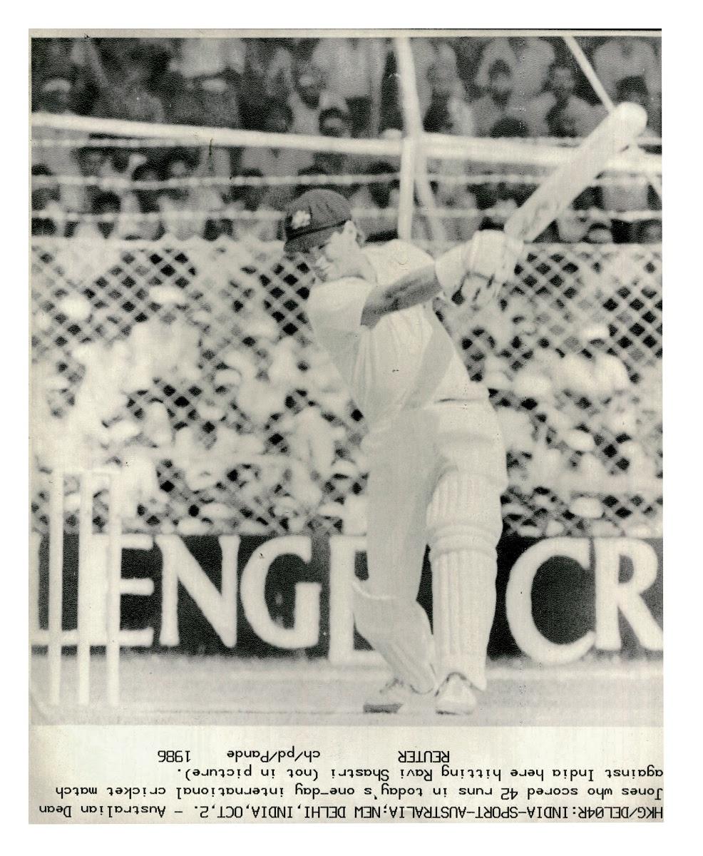 Dean Jones The Second Tied Test Bradman Museum International Cricket Hall Of Fame Google Arts Culture