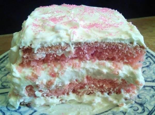 Straw-nana Monkey Cake Recipe