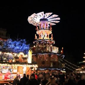 豪華なお店のイルミネーションに注目!南西ドイツの町カールスルーエのクリスマスマーケット