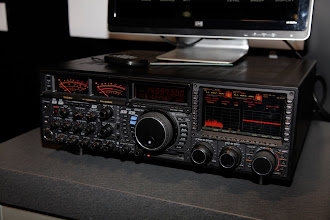 Photo: The Yaesu FTdx-9000D HF/6m transceiver.  This is their top-of-the-line rig.