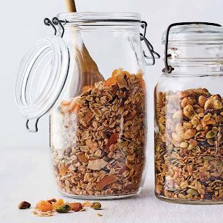 Granola with Pistachios, Coconut, and Cardamom Recipe