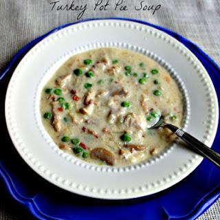 Recipe for Slow Cooker (Crock Pot) Turkey Pot Pie Soup