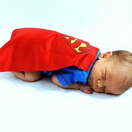Super baby  by Melissa Fulmer - Babies & Children Babies